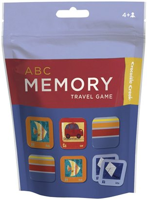 Crocodile Creek Pouch Game Memory/ABC