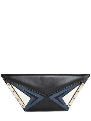 Kzeniya Wild Leather Clutch