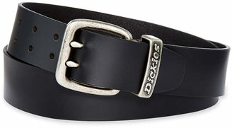 Dickies Leather Double Prong Belt