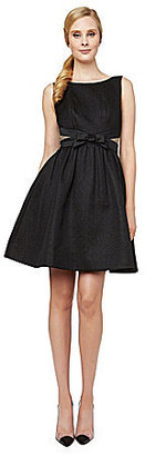 Erin Fetherston ERIN Edie Metallic Jacquard Fit-and-Flare Dress