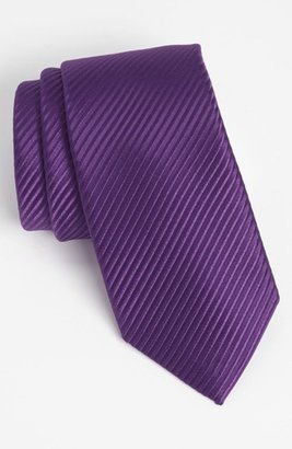 Men's David Donahue Woven Silk Tie $115 thestylecure.com