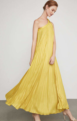 BCBGMAXAZRIA Abee Pleated Maxi Dress