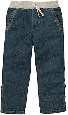 Carter's Denim Woven Convertible Pants - Girls 2t-4t