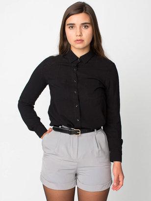 American Apparel Pleated Cuff Short