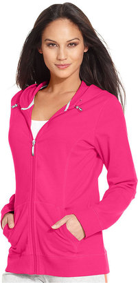 Style&Co. Sport Jacket, Long-Sleeve Zip-Front Hoodie