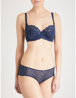 Panache Envy stretch-lace underwired balconnette bra