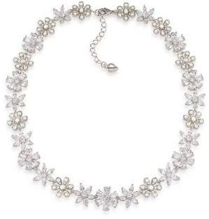 Carolee Debutant Ball Flower Collar Necklace