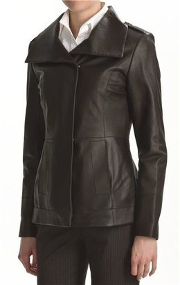 Cole Haan Scuba Jacket - Lambskin Leather (For Women)
