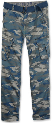 Camo Epic Threads Boys' Belted Cargo Pants