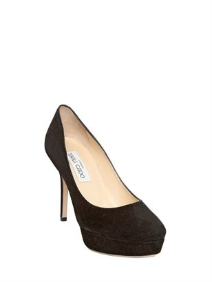 Jimmy Choo 100mm Aster Suede Pumps
