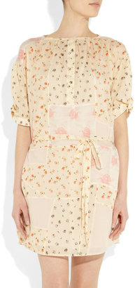 Vanessa Bruno Floral-print cotton dress