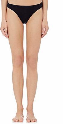 Hanro Women's Cotton Seamless Bikini Briefs - Black