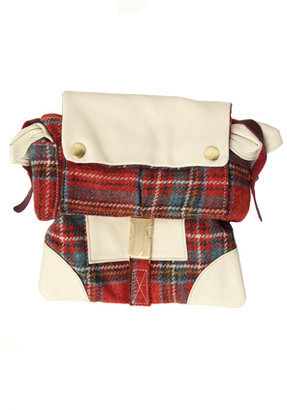 Rag and Bone Rag & Bone Utility Bag in Red Plaid