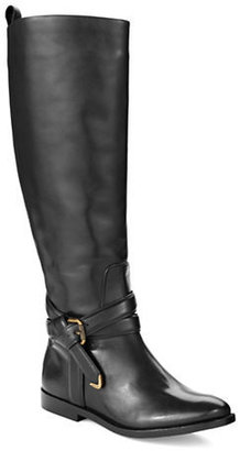 AERIN Meudon Buckle Riding Boots