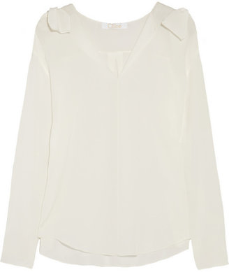 Chloé Silk crepe de chine blouse