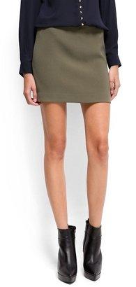 MANGO Straight-Cut Miniskirt