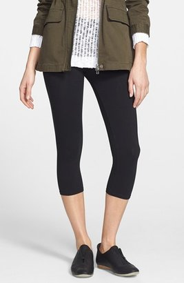 Women's Nordstrom 'Go To' Capri Leggings $26 thestylecure.com