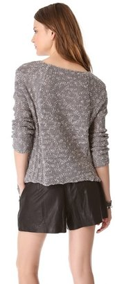 Helmut Lang Helmut Caged Boucle Pullover