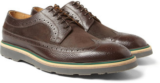 Paul Smith Contrast-Sole Leather Longwing Brogues