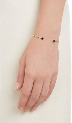 Jennie Kwon Women's Onyx, Diamond & Gold Wire Cuff