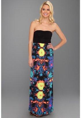 Hurley Sheila St Maxi Dress (Cool Aqua 5) - Apparel