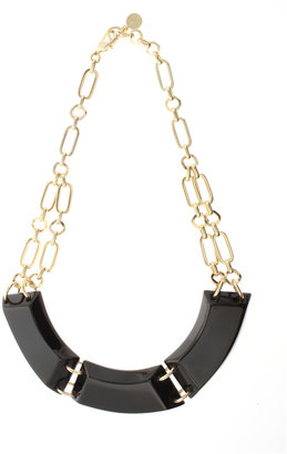 Ted Baker Tayba Gold And Black Short Striking Statement Necklace