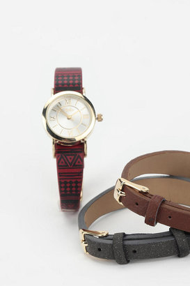 Urban Outfitters Interchangeable Strap Watch - Set of 3