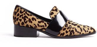 3.1 Phillip Lim Quinn Leopard Loafer