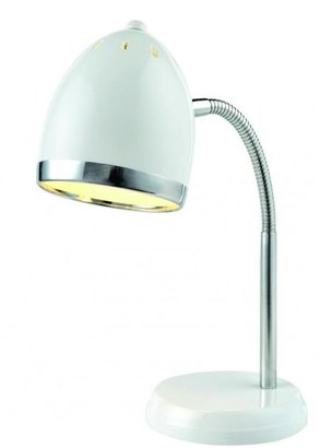 Filament Design 16 in. White Desk Lamp
