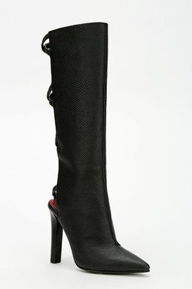 Jeffrey Campbell Dominica Back-Strap Boot