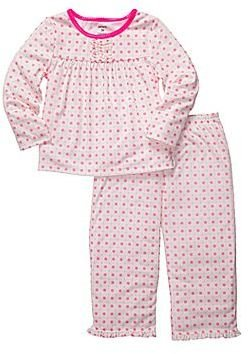 Carter's Pink Dot 2-pc. Pajamas - Girls 2t-5t