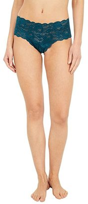 Cosabella Never Say Never Hottie Lowrider Hotpants (Black) Women's Underwear