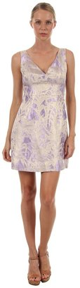 Kate Spade Minae Dress (Light Crocus/Floral Jacquard) - Apparel