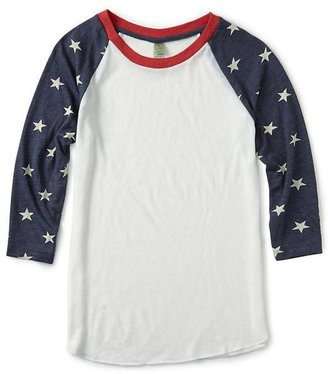 Alternative Apparel Alternative Printed Baseball Tee Shirt