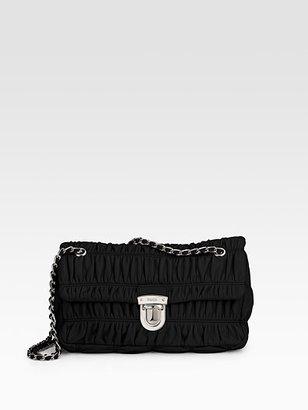 Prada Small Nappa Gaufre Mini Shoulder Bag