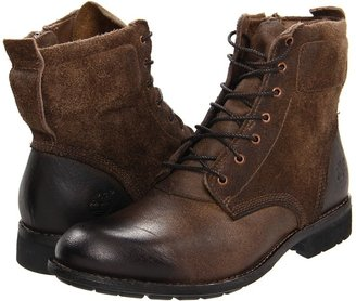 Timberland Earthkeepers City Premium 6 Side Zip Boot (Burnished Moss) - Footwear