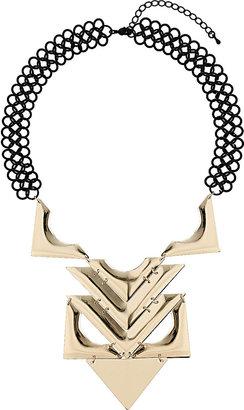 Topshop Figure Eight Chain Pendant