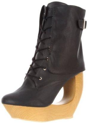 Fahrenheit Women's Lolita-03 Boot,Black,7.5 M US