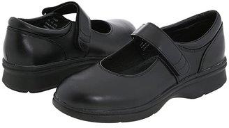 Propet Mary Jane Walker Medicare/HCPCS Code = A5500 Diabetic Shoe (Black Leather) Women's Shoes