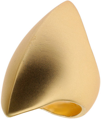 Topshop Metal Navette Ring