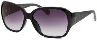 Calvin Klein Women's Square Black Sunglasses