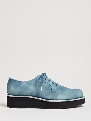 Yohji Yamamoto Men's Canvas Platform Shoes