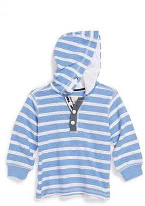 Sovereign Code 'Anarchy' Chambray Trimmed Hoodie (Toddler Boys)