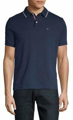 Tommy Hilfiger Short-Sleeve Cotton Polo