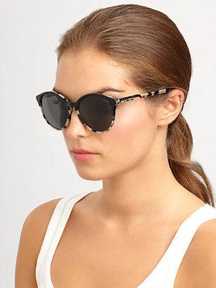 Stella McCartney Oversized Round Acetate Sunglasses