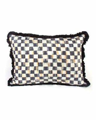 Mackenzie Childs MacKenzie-Childs Courtly Check Ruffled Lumbar Pillow