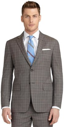 Brooks Brothers Milano Fit Plaid with Deco 1818 Suit