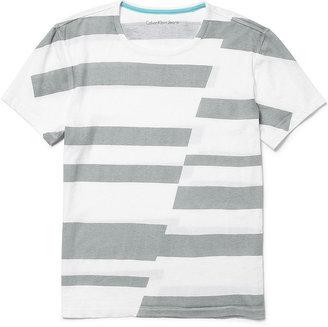 Calvin Klein Jeans Shirt, Known Stripe T-Shirt