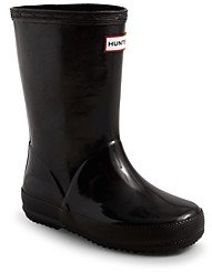Hunter Unisex First Gloss Rain Boots - Walker, Toddler, Little Kid