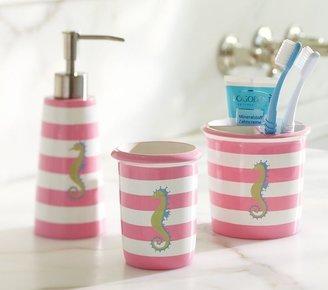 Pottery Barn Kids Seahorse Bath Accessories